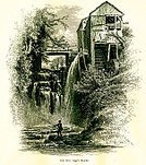 Ilustration,Salisbury,Connecticut,old mill,Flour,Fishing,Waterfall,North America,New England,Litchfield County,Sage,Ravine,Mill,Sage Ravine,Image Created 19th Century,Antique,19th Century Style,Watermill,New England Region,England,Freshwater,Engraving,Litchfield - New Hampshire,North,Water,county,region,Landscape,Cliff,Fisherman,USA,The Americas,Wheel,Litchfield - Maine,Sage's Ravine,American Culture,Famous Place,Old-fashioned,Picturesque America Or The Land We Live In,Unity,The Landform - Edinburgh,Idyllic,Nature