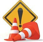 Traffic Cone,Orange Color,Ilustration,Street,Vector,Road Sign,Warning Sign,Plastic,Sign,Isolated,Alertness,White Background,Road Warning Sign,Safety,Yellow