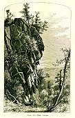 Valley,Ilustration,Mountain,Mountain Range,River,Titan,Mountain Peak,USA,Connecticut,toursit,The Americas,Cliff,Freshwater,Tree,North America,New England,Massachusetts,Metacomet Ridge,Riverbank,England,Mountain Ridge,Mount Holyoke,Landscape,Old-fashioned,Visit,Antique,Image Created 19th Century,holyoke,Stone,19th Century Style,Nature,Flowing,West Bank,Oxbow Bend,Metacomet,Titan's Pier,Idyllic,American Culture,Steep,Holyoke Range,Connecticut River,Picturesque America Or The Land We Live In,Coastline,Famous Place