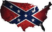 Hillbilly,Abstract,American Civil War,Confederate Flag,Ilustration,American Flag,Vector,Conservative Party,Design Element,Symbol,Backdrop,Backgrounds,Star Shape,Decoration,Map,Style,Naval Jack,USA,Southern USA,White,Red,Blue,Shape