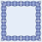 Frame,Blue,Pattern,Square,Design Element,Decoration,Backgrounds,Symmetry,Vector,No People,Ilustration,Abstract,Ornate