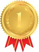 Number 1,Winning,Award Ribbon,First Place,Incentive,Best In Show,Gold Colored,Success,Certificate,Trophy,Metal,Vector,Diploma,Competition,Label,Computer Graphic,Medal,Award,Symbol,premium,Shape,Achievement,Wreath,Luxury,Badge,Celebration,Decoration,Sign,Design,Ilustration,Winnings,Isolated,Insignia,Price,Design Element