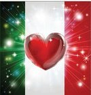 Italy,Love,Heart Shape,Backgrounds,Vector,Green Color,Red,White,Shiny,Flag,Design,Star Shape,Sparks,Sport,Abstract,Light - Natural Phenomenon,Sign,Symbol,Backdrop,Tourism,Midsection,Patriotism,Pyrotechnics,Pride