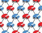 Pattern,Blue,Red,Effortless,Childhood,Decoration,Design Element,Car,Wallpaper,Continuity,Wheel,Group of Objects,Vector,Mode of Transport,Ilustration,Symmetry,Backgrounds,Repetition,Computer Graphic,D.J. White