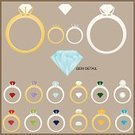 Ring,Diamond,Jewelry,Gemstone,Vector,birthstones,Ilustration,Ruby,Gold Colored,Gold,Sapphire,Opal,Peridot,Stone,Emerald,Personal Accessory,Pearl,Month,Shiny,Stone Material,Chart,Aquamarine,Topaz,Clip Art,Silver Colored,Garnet,Bright,Quartzite,No People,Group of Objects,Beautiful,Amethyst,birthstone,yellow gold,Beauty,white gold
