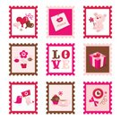 Valentine's Day - Holiday,Gift,Lovebird,Love Letter,Heart Shape,Love,Icon Set,Bee,Pink Color,Flower,Candy,Romance,Teddy Bear,Decoration,Balloon,Postage Stamp,Celebratory Toast,Stuffed Toy,Dating,Love Note,Lollipop,Cute,Kissing