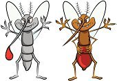 Blood,Biting,Eating,Feeding,Greed,Humor,Animal,Illness,Danger,Desire,Mosquito,Cartoon,Pest,Over Eating,Bizarre,Insect,Epidemic,Gourmet,Hungry,Insecticide,Poisonous Organism,Drop
