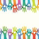 Charity and Relief Work,Volunteer,Human Hand,Assistance,A Helping Hand,Giving,Service,Ideas,Donation Box,Community,Backgrounds,Togetherness,Concepts,People,Unity,Arms Raised,Loving,Multi-Ethnic Group,Friendship,Multi Colored,Teamwork,Vector,Pattern,Seamless,Effortless,Cooperation,Ilustration,Arms Outstretched,Love,Abstract,Participant,Team,Group Of People,Sports Team