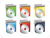 Content,CD-ROM,Box - Container,software box,Package,CD,The Media,Information Medium,Vector