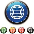 Global Business,Computer Icon,Symbol,Global Communications,Global,Ilustration,Curve,Communication,Internet,high gloss,Circle,Vibrant Color,Vector,Green Color,Shiny,Globe - Man Made Object,isolated object,Black Color,Blue,Red,Orange Color,Bright