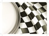 Sports Race,Backgrounds,Car,Flag,Checkers,Checked,Rally Car Racing,Starting Line,Winning,Speed,Horizontal,Championship,Vector,Sport,Pattern,Finishing,White,Black Color,Ilustration