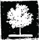 Woodcut,Tree,Elm Tree,Dirty,Scenics,Nature,Illustrations And Vector Art,Plants,Vector,Solitude,Black Color