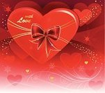 Backgrounds,Red,Design,Heart Shape,Valentine Card,Abstract,Valentine's Day - Holiday,Ilustration