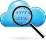 Magnifying Glass,Cloud - Sky,Coding,Searching,Data,Work Tool,Multi Colored