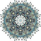 Arabic Style,Kaleidoscope,Mandala,Geometric Shape,Pattern,Vector,Retro Revival,Floral Pattern,Line Art,Snowflake,Isolated,Design,Ilustration,Circle,Star Shape,Ornate,Symmetry,Decoration,Design Element,Christmas Ornament,Embroidery,Abstract,Tapestry,Lace - Textile,Doily