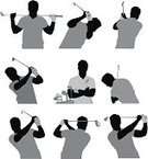 Golfer,Golf,Silhouette,Golf Swing,Golf Club,Men,Swinging,Sport,Black And White,Sports Equipment,Action,Vector,Leisure Activity,Golf Course,Clip Art,Putting Green,Casual Clothing,Male,Athlete,Recreational Pursuit,Rear View,Vitality,Side View,Holding,Ilustration,Front View,Golf Bag,Hobbies,Digitally Generated Image,Standing,Adult,Multiple Image,Playing,Hitting,Leisure Games,golf shot,Computer Graphic,Cut Out,Arms Crossed,Lifestyles,Muscular Build,Polo Shirt,Profile View,Professional Sport,Teeing Off,Outline,Sportsman