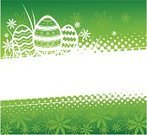 Easter,Backgrounds,Springtime,Flower,Symbol,Green Color,Computer Graphic,Season,Silhouette,Holiday,Frame,Floral Pattern,Grass,Summer,Animal Egg,Pattern,Bright,Ideas,Abstract,Nature,White,Concepts,Design Element,Design,Inside Of,Spotted,Space,Colors,No People,Striped,Style,Cultures,Ornate,Group of Objects,Celebration,Horizon,Decoration,Vector,Ilustration