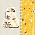 Vector,Cake,Backgrounds,template,Greeting,Pattern,Greeting Card,Ilustration,Ornate,Scrapbook,Postcard