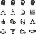 Computer Icon,Symbol,Ideas,Inspiration,Icon Set,International Landmark,Trophy,Maze,Motivation,Business,Human Resources,Currency,Decisions,Creativity,Authority,Balance,Leadership,Recruitment,Winning,Success,Strategy,Resume,Thumbs Up,Manager,Global Finance,Incentive,Personal Organizer,Organization,Employment Issues,Partnership,Teamwork,Dollar Sign,Awards Ceremony,Aspirations,Solution,Selling,Working,Togetherness,Diagram,Calendar,Presentation,Corporate Hierarchy,Brainstorming,Businessman,Pyramide Cheese,Global Communications,Internet,Commercial Activity