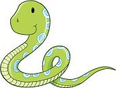 Reptile,Animal,Snake,Wildlife,Ilustration,Cute,Vector