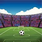 Soccer Stadium,Spectator,Crowd,Soccer,Audience,Stadium,Goal,Aspirations,Football,Playing,Cloud - Sky,Vector,Red,Day,Soccer Ball,Penalty,Championship,Illustrations And Vector Art,Competitive Sport,Illuminated,Ball,Playing Field,Team Sport,Soccer League,Sports Background,Sports Event,People,Italian Football League,Sphere,Grass,Ilustration,The Football League,Event,Uefa,Winning,Large Group Of People,Sports Backgrounds,Play,Blue,Vector Backgrounds,Sport,vector background,Sports League,Lighting Equipment,FIFA World Cup 2014,Professional Sport,Competition,Copy Space,sports and fitness,Sports Venue,Cloudscape,Success