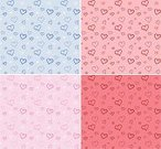 Human Heart,Wallpaper Pattern,Valentine's Day,Pattern,Love,Heart Shape,Backgrounds,Valentine's Day - Holiday