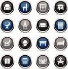 Sofa,Silhouette,Furniture,Filing Cabinet,Cabinet,Vector,Ilustration,Icon Set,Chair,Symbol,Computer Icon,Closet,Decor,Table,Shelf,Isolated On White,Electric Lamp,Armchair,Interface Icons,Bed,Color Gradient,Drawer,Bookshelf,Cartoon,Multi Colored