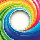 Swirl,Multi Colored,Circle,Color Image,Wave Pattern,Rainbow,Spiral,Paint,Backgrounds,Spinning,Abstract,Funky,Computer Graphic,No People,Curled Up,Vector,Digitally Generated Image,Design,Modern,Drawing - Art Product,Curve,Glowing,Art,Ilustration,Shape