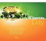 St. Patrick's Day,Environmental Conservation,Green Color,Single Flower,Leaf,Irish Culture,Flower,Vine,Republic of Ireland,Orange Color,Copy Space,Celebration,Swirl,Vector,Gold Colored,Shadow,Leaf Vein,Horizontal,Cooking Pan,Shiny,Bright,Transparent,Eps10,Gold,Cultures,Clove,Traditional Festival,Particle,Coin