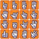 Human Hand,Hand Sign,Glove,Cartoon,Human Finger,Pointing,Sign Language,Thumbs Up,Symbol,Number,Rock and Roll,Sign,Vector,Two Fingers,Three Fingers,Palm,Fist,Positive Emotion,One Finger,Gesturing,Computer Graphic,Agreement,Drawing - Art Product,Outline,Design Element,Ilustration,Communication,Design,tell,Inspiration,Concepts,Isolated,Rabbit Ears,Illustrations And Vector Art,People,handcarves,Fun,Ideas,graphic elements