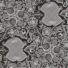 Grid,Drawing - Art Product,Pattern,Sewing,Black Color,Paisley,Sketch,Swirl,Needlecraft Product,Textured,Abstract,Leaf,Scroll Shape,handiwork,Ornate,Textile,Fashion,Woven,Craft,Lace - Textile,Doodle,Outline,Backgrounds,Curve,Classic,Old-fashioned,Luxury,Seamless