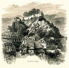 Lourdes,Castle,Urban Skyline,Residential Structure,Iberian,Iberian Peninsula,Engraved Image,hause,Ilustration,Pyrenees,Image Created 19th Century,Mountain,pyrenean,Land,Pyrene,National Heritage Site,Rural Scene,Tourist,Hautes-Pyrenees,Europe,Historic Castle,Famous Place,Lourdes,Mountain Pass,Picturesque Europe,French Culture,French Pyrenees,Summit,France,Fort,Saddle,Steep,continent,Scenics,Museum,Engraving,Mountain Ridge,Mountain Peak,Mountain Range,Grooved,Valley,mountain chain,Tall,Nature,Chateau Fort De Lourdes,Lavedan,Panoramic,Spain,National Landmark,Brennig,Monument Historique,History,Gap - France,Idyllic,Peninsula