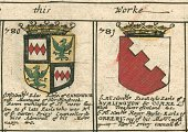 Engraved Image,Old-fashioned,Sign,Antique,heraldic,Earl Of Sandwich,Family Tree,Ilustration,Publication,Orrery,Image Created 17th Century,armorial,Blome,Roll Of Arms,Print,Coat Of Arms,Decoration,Paper,Symbol,copperplate,Hinchingbrook,Blome's Atlas,England,Family,History,Friendship,British Culture,Cultures,Ornate