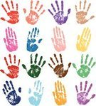 Handprint,Finger Painting,Human Hand,Fingerprint,Sketch,Print,Sign,Track,Abstract,Dirty,Backgrounds,Playful,Stop,Grunge,Stop Gesture,Silhouette,Symbol,Set,Messy,Ink,Collection,Vibrant Color,Unhygienic,Stained,Warning Symbol,Multi Colored