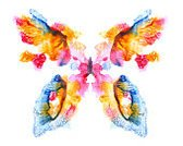 Watercolor Painting,Painted Image,Abstract,Butterfly - Insect,Art,Paint,Backgrounds,Elegance,Wing,Springtime,White Background,Ink,Floral Pattern,Creativity,Blob,Color Image,Insect,Summer,Design,Paper,Remote,Blue,Yellow,Design Element,Red,Textured Effect,Wallpaper Pattern,Ilustration,Grunge,Isolated,Single Flower,Textured,Majestic,Tropical Climate,Symmetry,Multi Colored,Single Object,Image
