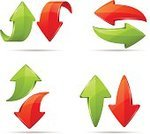 Arrow Symbol,Curve,Moving Down,Set,Red,Leaving,right,Turning,Three Dimensional,Moving Up,Vector,Symbol,Connection,Refreshment,Motion,Design Element,Direction,Design,Sign,Next,Icon Set,Computer Icon,Back - Furniture Part,Technology,No People,Shape,Former,Green Color,Cartoon,Group of Objects,Ilustration