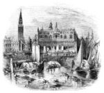 Doges Palace,Canal,Old,Manual Worker,Engraving,Venice - Italy,Engraved Image,European Culture,Water,Palace,Italy,Working,Adult,Travel Destinations,Black And White,Monochrome,Drawing - Art Product,Famous Place,Travel,Doge's Palace,Quayside,Italian Culture,Europe,Image Created 19th Century,Campanile - Venice,Print,St Mark's Basilica,Nautical Vessel,Gothic Style,Busy,The Past,Social History,Historical Clothing,National Landmark,In Front Of,Traditional Clothing,Moored,Tower,Transportation,Line Art,Ilustration,People,Woodcut,Outdoors,Image Created 1860-1869,Recreational Boat,19th Century Style,St. Mark's Square,St. Mark's Cathedral,Sailing Ship,Grand Canal - Venice,Cultures,Bell Tower,Architectural Styles,History,1860-1869,Building Exterior