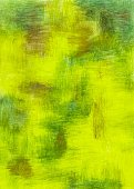 Backgrounds,Oil-color,Green Color,Gold Colored,Painted Image,Yellow