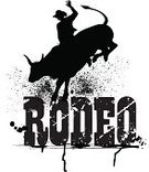 Rodeo,Bull - Animal,Silhouette,Rearing Up,Bull Riding,Cowboy,Black And White,Ilustration,Mammal,Animal Sport,Animal,Entertainment Event,Grunge,Text,Group of Objects,Event,Art Title,Arrangement,Vector,Gripping,Single Word,Typescript