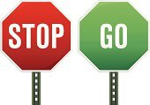 Stop Sign,Go - Single Word,Stop,Sign,Road Sign,Green Color,Red,Ideas,Symbol,Concepts,Computer Icon,Instructions,Comparison,Contrasts,Variation