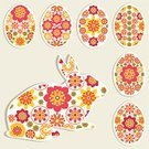 Rabbit - Animal,Pattern,Springtime,Easter Egg,Easter,Greeting Card,Symbol,Greeting,Red,Art,Multi Colored,Tracery,Natural Pattern,Cartoon,Cute,Season,Gift,Isolated,Animal Egg,Design Element,Ilustration,Hare,Animal,Nature,Set,Invitation,Vector,Baby Rabbit,Foliate Pattern,Fantasy,Colors,Yellow,Young Animal,Holiday,Decoration,Isolated On Gray,Single Object,Toy,Floral Pattern,Beauty In Nature,Celebration