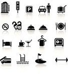 Symbol,Computer Icon,Gym,Icon Set,Health Club,Service Bell,Hotel,Design Element,No Smoking Sign,Black Color,Dry Cleaned,Vector,Bed,Service,Martini,Parking Sign,Bar - Drink Establishment,Laundry,Coffee - Drink,Do Not Disturb Sign,Travel,Suitcase,Safe,Recreational Pursuit,Business Travel,Restaurant,Leisure Activity,Tourism,Wallet,Alcohol,Luggage,clean clothes,Room Service,Modern,Golf Course,Reflection,Cleaner,Isolated On White,Drink,Car Rental,Golf,Hydrotherapy,Ilustration,Taxi,Hotel Amenities,Swimming Pool,Swimming,Safety,Building Exterior,Bell,Cocktail