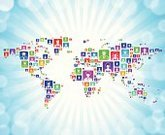Social Networking,Blog,Computer Icon,Ideas,Concepts,World Map,Globe - Man Made Object,Search Engine,Map,Label,Cartography,Icon Set,Chat Room,Vector,Internet,Circle,Reunion - Social Gathering,Social Gathering,Women,South America,North America,Discussion,Green Color,Correspondence,Ilustration,Blue,Design,Cloud Computing,Global Communications,Square Shape,Orange Color,Asia,Men,Red,Black Color,Collective Bargaining Agreement,Downloading,Square,Internet Dating,Australia,Computer Network,Europe,Streaming Media Service,Google Plus,Google Social Networking Service,Communication,Africa,Friendship,Internet Communication