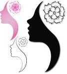People,Sign,Business,Profile View,Human Hair,Design,Pattern,Silhouette,One Person,Backgrounds,Beauty,Commercial Sign,Teenager,Adult,Hair Salon,Illustration,Marketing,Females,Women,Teenage Girls,Vector,Beauty Spa,Single Flower,Beautiful People,Background