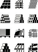 Computer Icon,Pipe - Tube,Girder,Icon Set,Timber,Cement,Drywall,Vector,Material,Ceiling,Concrete,Brick,Architecture,Wood - Material,Construction Site,Roof,Metal,Plaster,Industry,Glass - Material,Business,Block,Profile View,Set,Design,Home Improvement,Ceramics,Development,Wall,Home Interior,Ilustration,Roof Tile,Roof Beam,Gypsum,Equipment,Decoration,Construction Industry