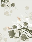 flourishes,Floral Pattern,Leaf,Backgrounds,Plant,Branch,Beauty,Abstract,Ilustration,Concepts,Creativity,Nature,Flower,Beauty And Health,Curled Up,Fashion,Silhouette,Nature,Flowers,Scroll,Painted Image,Ornate,Beauty In Nature,Scroll