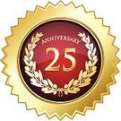 25-29 Years,20-24 Years,Congratulating,Number 25,Seal - Stamp,Anniversary,Gold Colored,Gold,Circle,Coat Of Arms,Insignia,Badge,Symbol,Medallion,twenty-fifth,Computer Icon,Bay Tree,Text,Label,Garland,Star Shape,Celebration,Olive Tree,Trophy,Shield,Medal,Wreath,Golden Wedding,Achievement,Jubilee,Laurel Wreath,Diadem,25th Anniversary,Message,Leaf