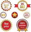 Shopping,Retail,Sign,Sale,Red,White,Success,Business,Symbol,Isolated,best price,Selling,Store,Badge,Design,Set,Vector,Marketing,Currency,Gold Colored,Label