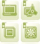 Computer Part,CPU,PC,Laptop,Equipment,Personal Accessory,Colorimeter,processor,Vehicle Part,Electric Fan,Symbol,Sign,White Background,Peridot,calibration,Color Calibration,Computer,Vector,Green Color,White,Outline,Computer Peripheral