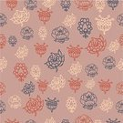 Wallpaper,Coral Colored,Plant,Flower,Pattern,Single Flower
